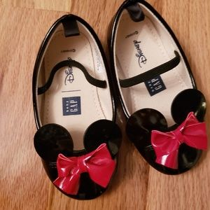 NWOT Baby GAP Disney Minnie Mouse Slippers